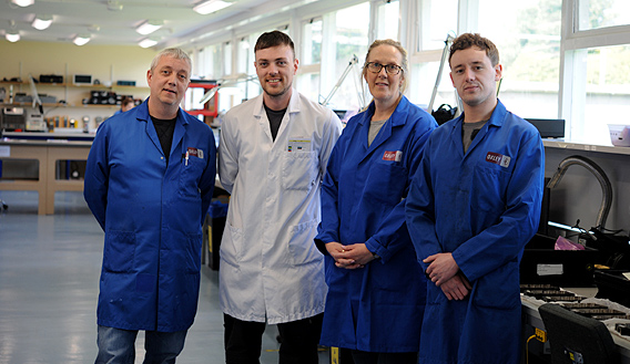 Photo of team members from Oxley Group